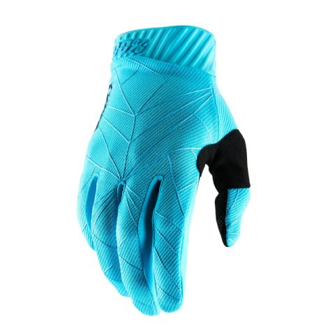 RIDEFIT 100% Glove Ice Blue/Black